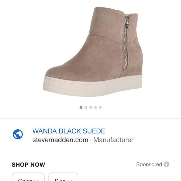 6305bcc234d Steve Madden Wanda sneaker wedge (taupe)